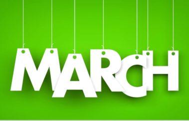 March 2020 In-Person & Virtual Classes